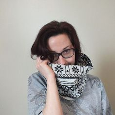Infinity scarf by Mairi Brunning Millinery www.mairibrunning.com www.etsy.com/uk/shop/mairibrunning