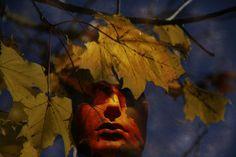 'Abstract - Face of autumn' von Chris Berger bei artflakes.com als Poster oder Kunstdruck $18.29