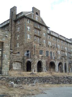 The Buck Hill Inn was once a premiere resort in The Poconos.