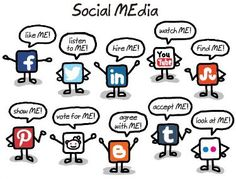The different platform voices of social media.