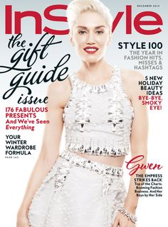 Gwen Stefani is InStyle's December 2015 cover star!