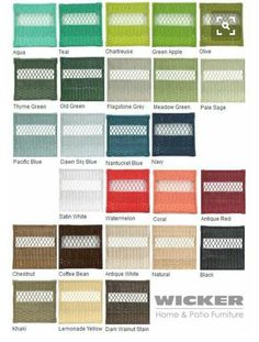 Merveilleux Wicker Paint Colors Top Colors For Painted Furniture