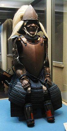 Nanban (Western)-style samurai cuirass, 16th century.