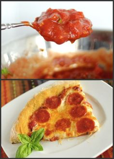 Recipe – New York Style Pizza Crust & Sauce)