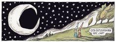 Ricardo Siri Liniers - Está entusiasmada hoy, no?.. Liniers, seudónimo de Ricardo Siri (Buenos Aires, 15 de noviembre de 1973), es un historietista argentino conocido por ser el autor de Macanudo. #Humor