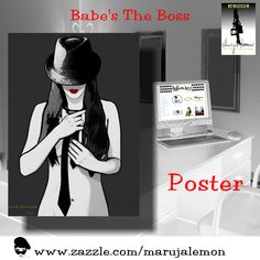 "Poster ""Babe's The Boss"""