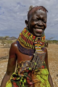 Afrika - Turkana Tribe, Kenya (The Turkana is the second largest tribe after the Maasai)