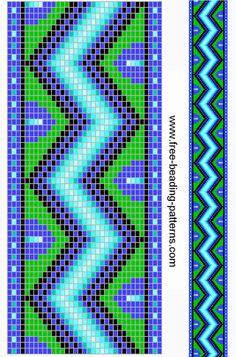 Beading loom pattern