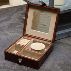 Decoration Archive Leather Jewellery Box - Home Accessories - Accessories Leather Jewelry Box, Jewellery Box, Home Accessories, Archive, Decoration, Collection, Decor, Jewelry Case, Jewel Box