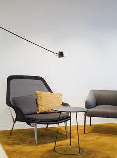 Moderne kontorlokaler, Oslo - Nyfelt og Strand Interiørarkitekter Oslo, Eames, Lounge, Studio, Chair, Furniture, Home Decor, Modern, Airport Lounge