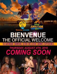 Spice Addiction BIENVENUE 2016 Ultra Inclusive Drinks Experience Aug 4th, 2016