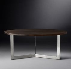 Inch And Inch Round Dining Tables Combine The Mountain Modern - 72 round modern dining table