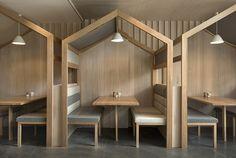 Des cabanes en bois