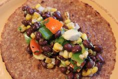 Southwestern Black Bean Tacos: Easy, Healthy, and Yummy: Perfect for the Daniel fast.