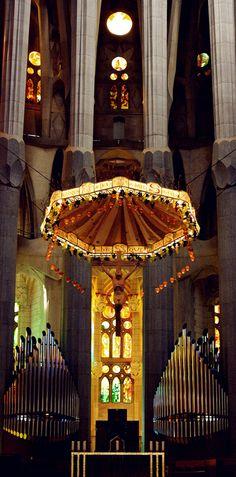 Barcelona <Cataluña> La Sagrada Familia de Antonio Gaudí.