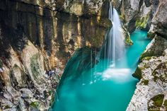 This May Be The Most Beautiful River On Earth.. Soca River, Slovenia. ISO.500 Pix