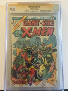 Giant Size x Men 1 CGC 9 0 Signature Series Signed Stan Lee | eBay