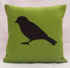 silhouette+pillow=so fun.