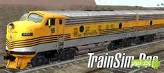 Train Sim Pro Android Game Description: Train Sim is the 3D Train Simulator that lets you to control a train as it goes around a track.Current version allows you to control the speed, its direction and sound horn/bell. Control train lights.You can also sit inside all of the 34 trains.