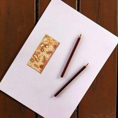Cracker draw illustration pastels