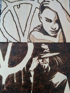 V for Vendetta pieces