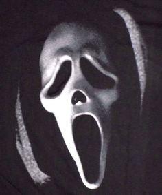 Scream Ghostface Killer Large Black T Shirt NWT Horror Movie Maniacs  #Scream #GraphicTee