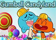 Únete a la aventura de Gumball y su sombra rosa en el mundo secreto de candyland, el objetivo acá...