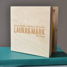 Personalised Name Journey CD Box (CD4)