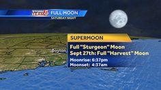 Did u c the almost full moon tonight?  A bit closer, so a bit bigger #wcvb