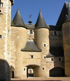 Chateau de Fougeres, Bievre, France