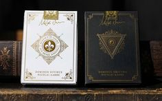 The back of the tuck cases. No printing. It's all gold foil and embossing effect. Seals are optional. Alcohol Drink Recipes, Cartomancy, Raise Funds, Seals, Gold Foil, Tarot, Alcoholic Drinks, Playing Cards, Printing
