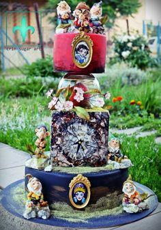 snow white  - Cake by Crin sugarart