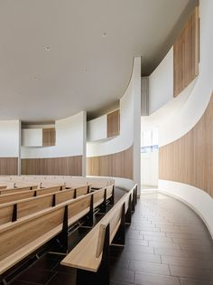 Jesuit High School Chapel of the North American Martyr in Carmichael, CA by Hodgetts + Fung; Photo: Joe Fletcher