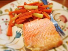 Salmon and Carrots and Parsnips: 7/9/13