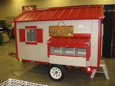 Chicken Coop Plan Material List The Hen Herder's Wagon Mobile Coop   eBay