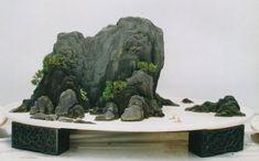 Penzai, Chinese Bonsai, Potted Landscape