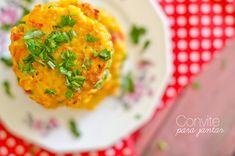 Hambúrgueres de arroz e um convite para jantar