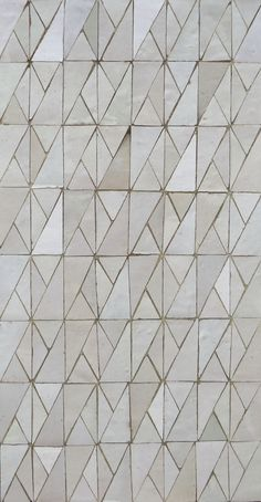 Carrelage de sol / mural / en ciment / poli - ZELLIGE CREATIVE : WHITE - Ateliers Zelij