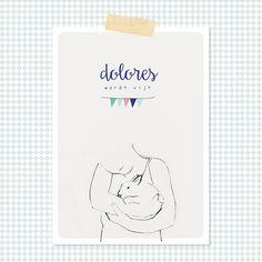 Uitnodiging verjaardag Dolores  www.studiolouisville.com