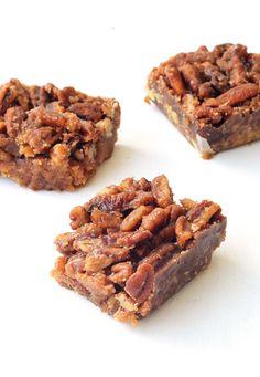 Maple Pecan Bars with a Pretzel Crust | Sweetest Menu