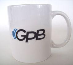 Georgia Public Broadcasting GPB White Coffee Mug #Unknown