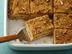 Healthified Streusel Coffee Cake Recipe from Live Better America