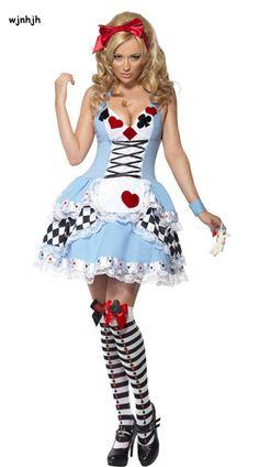 dfd13b184df Plus Size New Sexy Queen of Hearts halloween Costumes For Women Costume  Alice In Wonderland Fancy