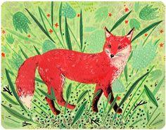 red fox by beccastadtlander on Etsy