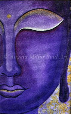 Buddha, Buddha print, Buddha art, Buddha handmade, Buddha face, Buddhism, Zen, Spiritual art, Buddha wall art, Buddha home decor (unframed) by AngelaMillarSoulArt on Etsy https://www.etsy.com/listing/194871063/buddha-buddha-print-buddha-art-buddha