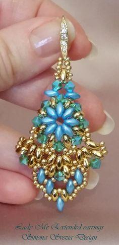 Perline e Bijoux: Orecchini Lady Me Extended / Lady Me Extended earrings