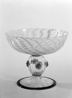 Tazza 17th century Italian, Venice (Murano) Glass