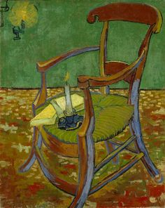 Vincent van Gogh's paintings 'Gauguin's chair' and 'Self-portrait as a painter' are currently at Musée d'Orsay (officiel). If you are staying in Paris, be sure to take a look!  Image: Vincent van Gogh (1853-1890), Gauguin's chair, 1888. Van Gogh Museum, Amsterdam