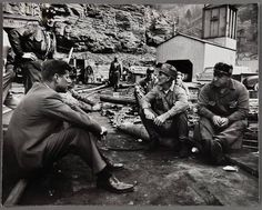 JFK talks to Coal Miners at Welch, WV iwhile campaigning in 1960--Almost Heaven Wild Wonderful West Virginia