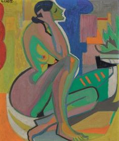 andre lhote paintings | Andre Lhote (1885-1962) | Femme assise | Impressionist & Modern Art ...